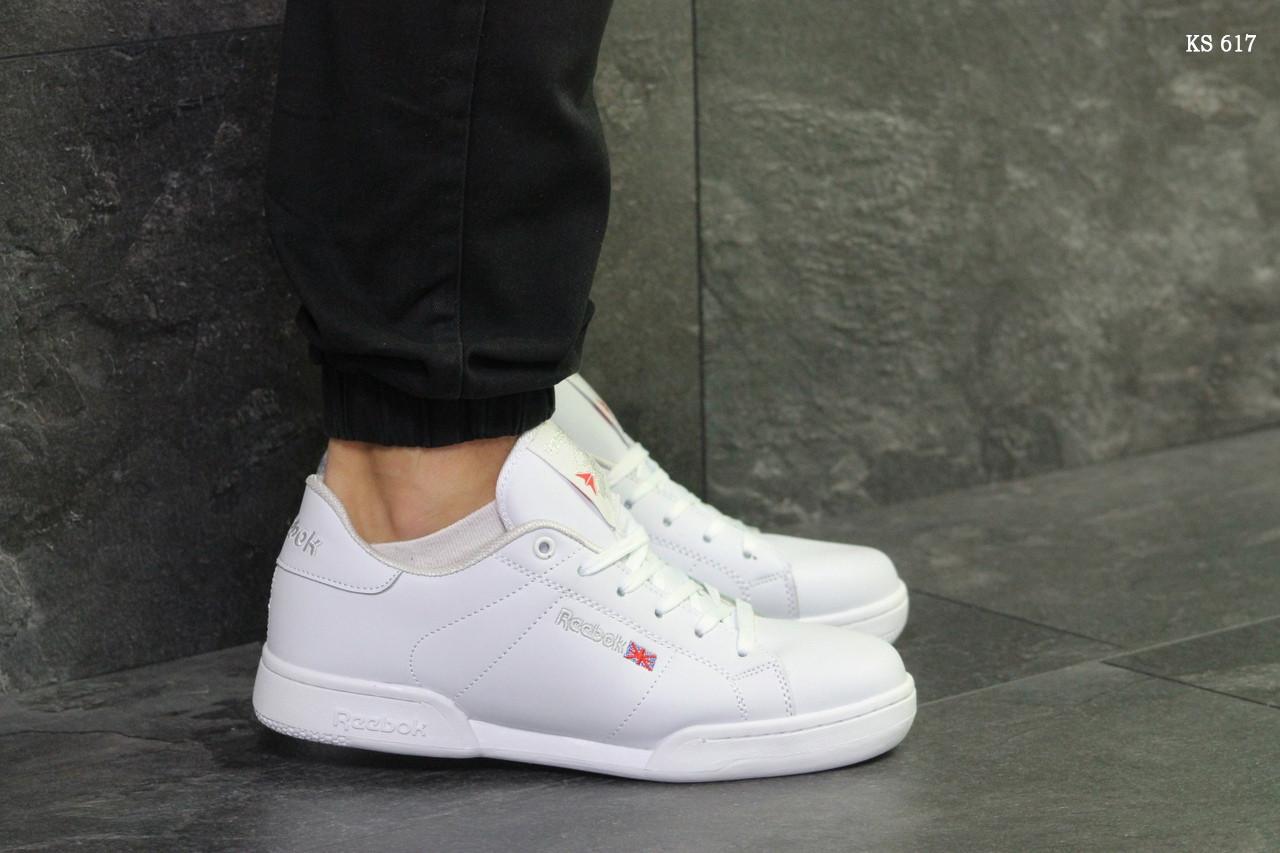 Кроссовки Reebok белые мужские