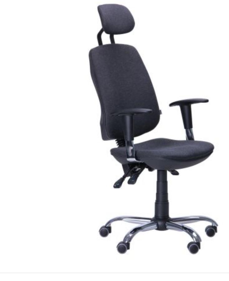 Кресло компьютерное -Кресло Регби HR MF Chrome А-23