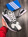 Модные кроссовки Adidas Yung-1, фото 4