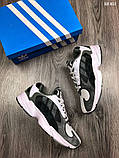 Модные кроссовки Adidas Yung-1, фото 6