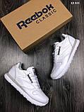 Кроссовки Reebok Classic, кожаные, топ качество, фото 2