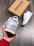 Кроссовки Reebok Classic, кожаные, топ качество, фото 3