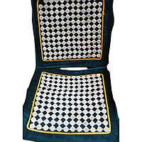 Массажный коврик в машину на сиденье с нефритовыми вставками