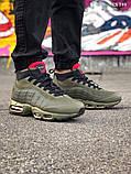 Мужские кроссовки Air Max 95 Sneakerboot зимние термо, 41, фото 2