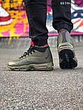Мужские кроссовки Air Max 95 Sneakerboot зимние термо, 41, фото 6