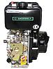 Двигатель дизель.GrunWelt GW178F +БЕСПЛАТНАЯ ДОСТАВКА! (вал под шлицы, 6 л.с), фото 3