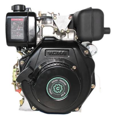 Двигатель дизель.GrunWelt GW178F +БЕСПЛАТНАЯ ДОСТАВКА! (вал под шлицы, 6 л.с)