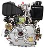 Двигатель дизель.GrunWelt GW178F +БЕСПЛАТНАЯ ДОСТАВКА! (вал под шлицы, 6 л.с), фото 7