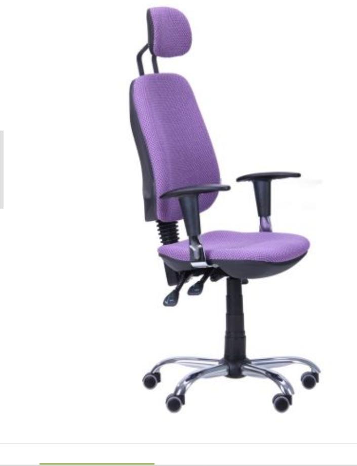 Кресло компьютерное - Регби HR MF Chrome Квадро-76