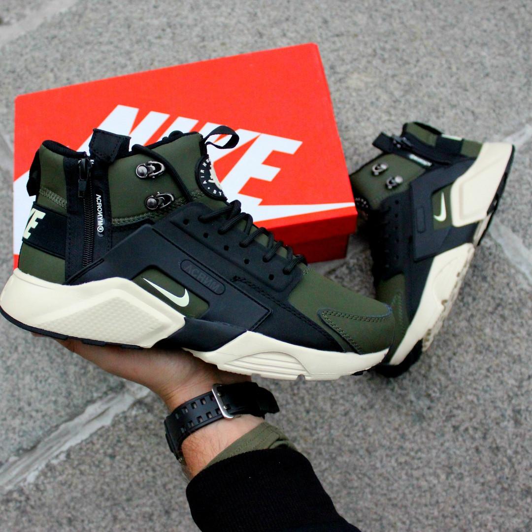 Термо-кроссовки мужские Nike Huarache Winter