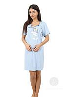 Ночная сорочка туника для кормящих и беременных VIENETTA