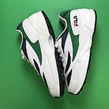 Fila Venom White Green, фото 6