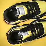 Кроссовки Balenciaga Triple S V2 Black Yellow, фото 9
