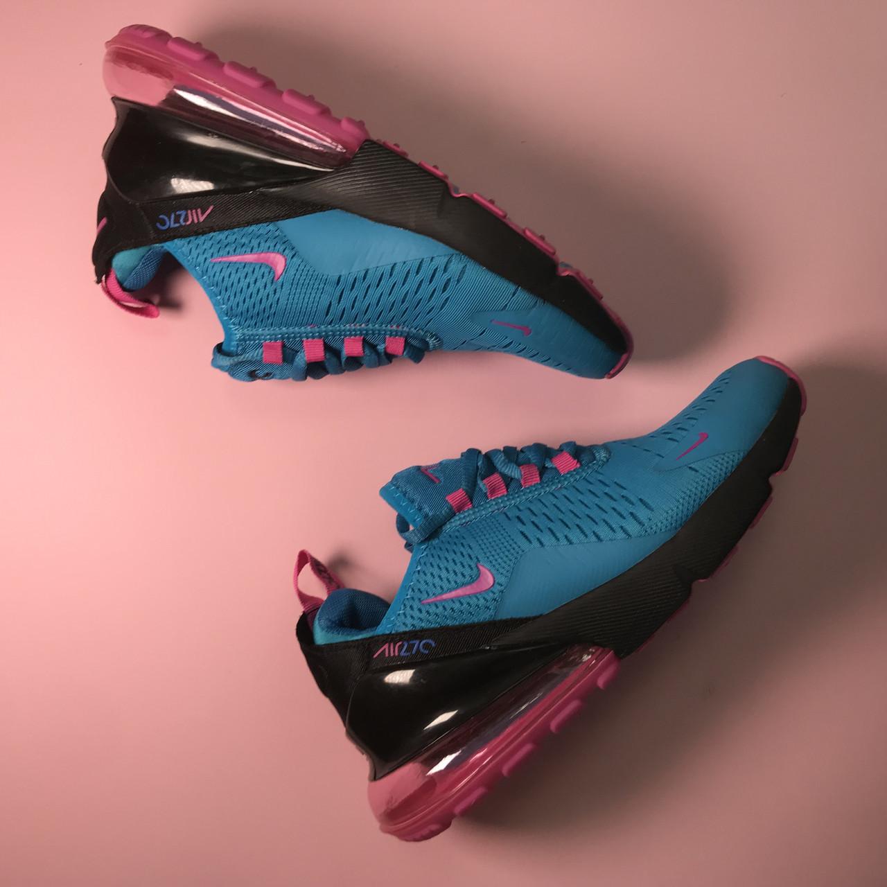 Кроссовки Nike Air Max 270 Blue Pink