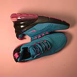 Кроссовки Nike Air Max 270 Blue Pink, фото 3