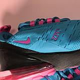 Кроссовки Nike Air Max 270 Blue Pink, фото 8