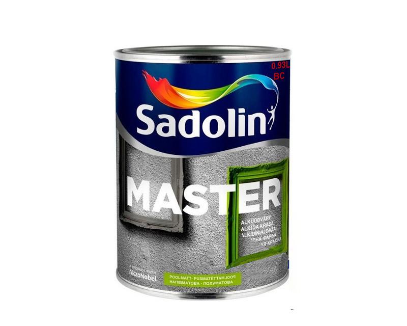 Эмаль алкидная SADOLIN MASTER 30 универсальная транспарентная - база ВC 0.93л