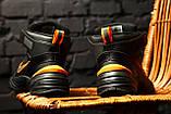Стильные кроссовки M2K Tekno Winter Black/Orange, фото 4