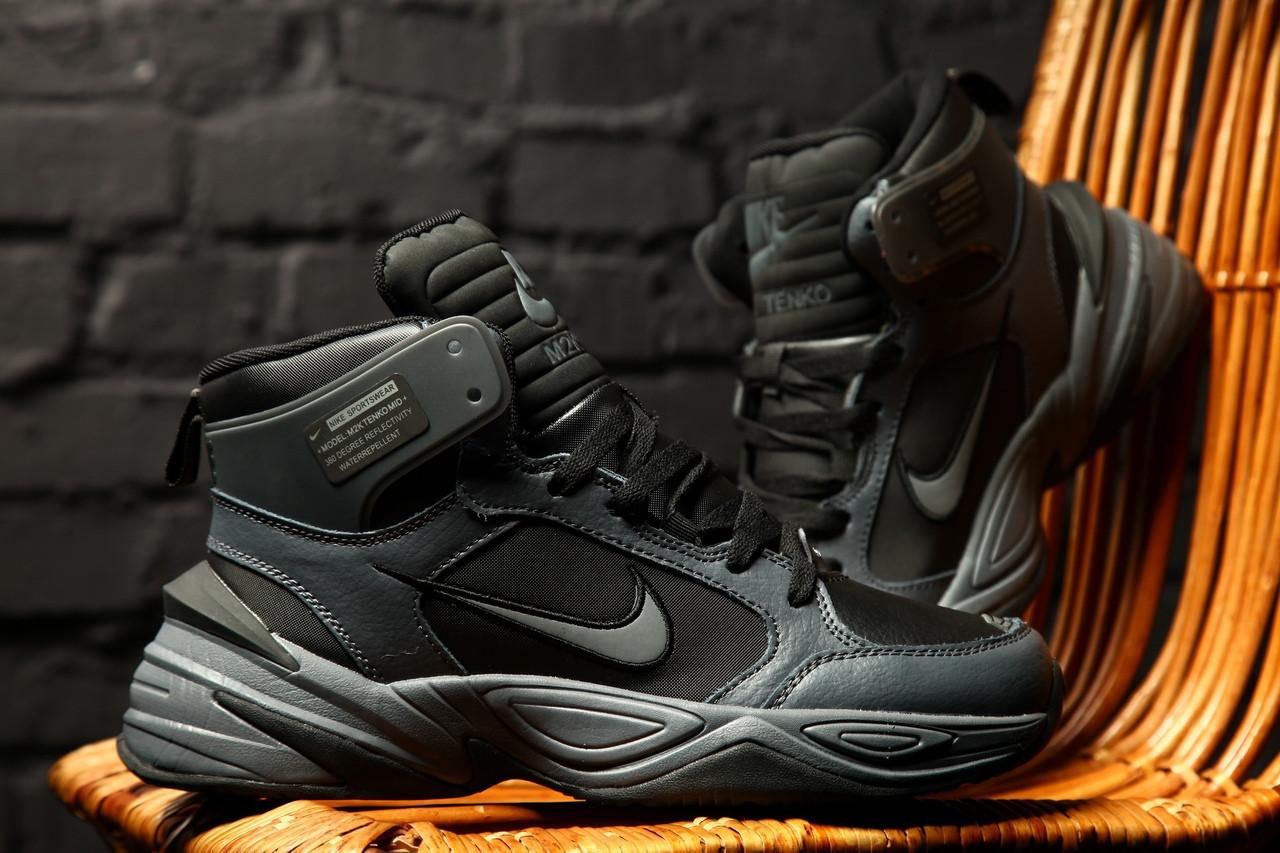 Стильные кроссовки M2K Tekno Winter Black/Gray