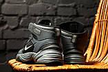 Стильные кроссовки M2K Tekno Winter Black/Gray, фото 4