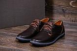 Мужские кожаные туфли  Levis Stage1 Chocolate ;, фото 9