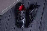 Мужские кожаные кроссовки  Е-series Wayfly Black  ;, фото 10