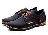 Мужские кожаные кроссовки Columbia flotar, фото 4