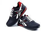 Мужские кожаные кроссовки Anser Reebok NS black, фото 3