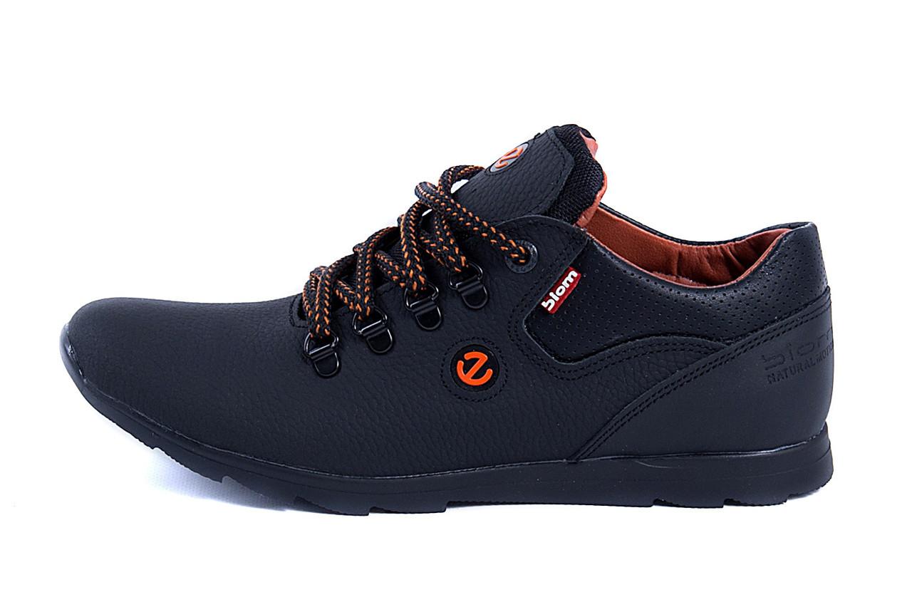 Мужские кожаные кроссовки  Е-series biom