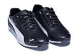 Мужские кожаные кроссовки  Puma BMW MotorSport Black, фото 3