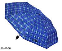 Зонт женский механический в клетку, фото 1