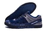 Мужские кожаные кроссовки Salomon Blue Trend, фото 3