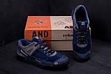 Мужские кожаные кроссовки Salomon Blue Trend, фото 9