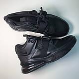 Кроссовки Nike Air Force 270 Full Black, фото 3