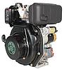 Двигатель дизель.GrunWelt GW178FE +БЕСПЛАТНАЯ ДОСТАВКА! (вал под шлицы, 6 л.с, электростартер), фото 2