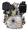 Двигатель дизель.GrunWelt GW178FE +БЕСПЛАТНАЯ ДОСТАВКА! (вал под шлицы, 6 л.с, электростартер), фото 4