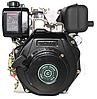 Двигатель дизель.GrunWelt GW178FE +БЕСПЛАТНАЯ ДОСТАВКА! (вал под шлицы, 6 л.с, электростартер), фото 5
