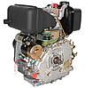 Двигатель дизель.GrunWelt GW178FE +БЕСПЛАТНАЯ ДОСТАВКА! (вал под шлицы, 6 л.с, электростартер), фото 6