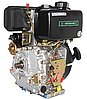Двигатель дизель.GrunWelt GW178FE +БЕСПЛАТНАЯ ДОСТАВКА! (вал под шлицы, 6 л.с, электростартер), фото 7