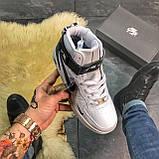 Кроссовки Nike Air Force High White Fur, фото 2