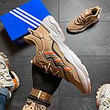 Женские кроссовки Adidas Ozweego Beige, фото 3