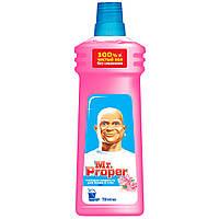 Моющая жидкость для полов и стен Чистота и блеск Роза 750мл - Mr Proper
