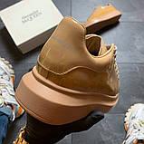 Кроссовки женские Alexander McQueen Matt Beige., фото 3