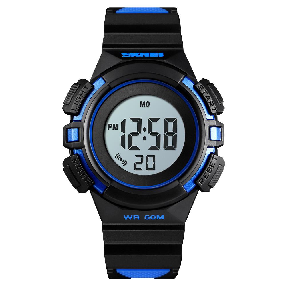 Skmei 1485 сині дитячі спортивні годинник