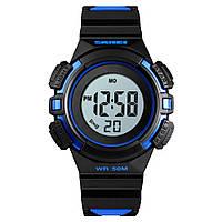 Skmei 1485 сині дитячі спортивні годинник, фото 1