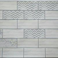 Декоративные листовые панели ПВХ для кухни,стен,балкона,туалета,гаража 485*960 мм Шеби шик