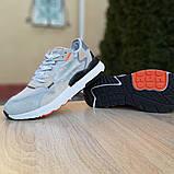 Кроссовки мужские Adidas Nite Jogger светло серые, фото 2