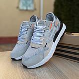 Кроссовки мужские Adidas Nite Jogger светло серые, фото 3