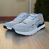 Кроссовки мужские Adidas Nite Jogger светло серые, фото 5