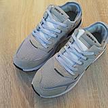 Кроссовки мужские Adidas Nite Jogger светло серые, фото 6